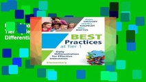 Best E-book Best Practices at Tier 1 [elementary]: Daily Differentiation for Effective