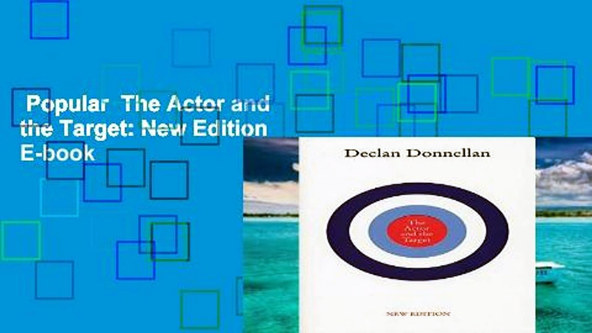 Popular  The Actor and the Target: New Edition  E-book
