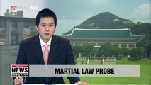 President Moon demands truth about 2016 martial law plans