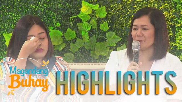 Magandang Buhay: Alora gets emotional while talking about her momshies OFW experience