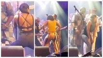 Danses ultra osées de deux sénégalaises enflammées par Youssou Ndour et Mbaye Dieye Faye