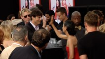 "Ashton Kutcher High Fives Mila Kunis ""The Spy Who Dumped Me"" World Premiere"