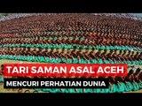 Lautan Penari Saman di Gayo Lues Aceh Pecahkan Rekor