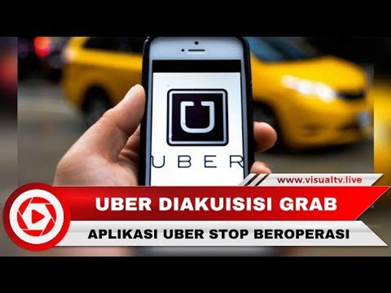 Diakuisisi Grab, Pengguna dan Pengemudi Uber Harus Beralih ke Aplikasi Grab