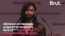Atteinte du VIH, Conchita Wurst dénonce la stigmatisation de sa maladie