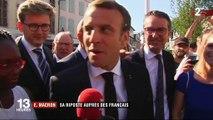 Affaire Benalla : Emmanuel Macron se dit fier d'avoir embauché Alexandre Benalla