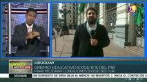 Uruguay: paro de 24 horas del sector educativo por mayor presupuesto