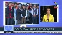 Colombia: avanza investigación contra Álvaro Uribe