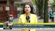 Investiga Corte Suprema colombiana a expdte Uribe y a senador Prada