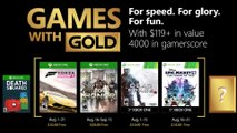 "XBOX GAMES WITH GOLD | ""August 2018"" Trailer"