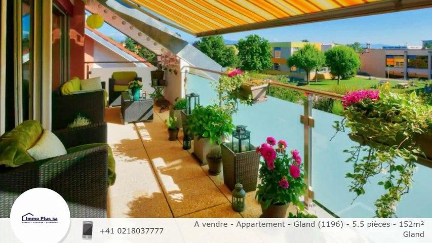 A vendre - Appartement - Gland (1196) - 5.5 pièces - 152m²