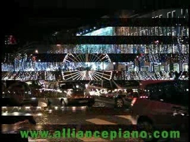 Illuminations de Noël Christmas illuminations in Paris