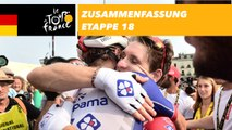 Zusammenfassung - Etappe 18 - Tour de France 2018