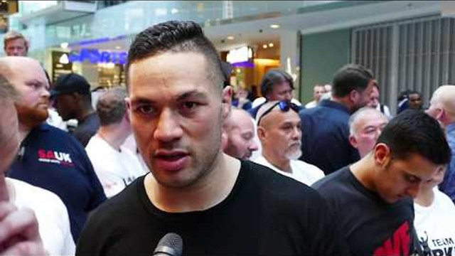 Joseph Parker EXCLUSIVE: I may BE HEAVIER than against Anthony Joshua