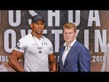 Anthony Joshua vs Alexander Povetkin HEAD TO HEAD | Matchroom Boxing