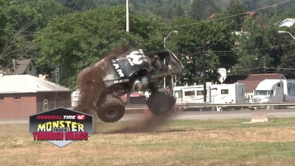 General Tire Monster Truck Thunder Drags & Freestyle Highlights Bloomsburg 2018