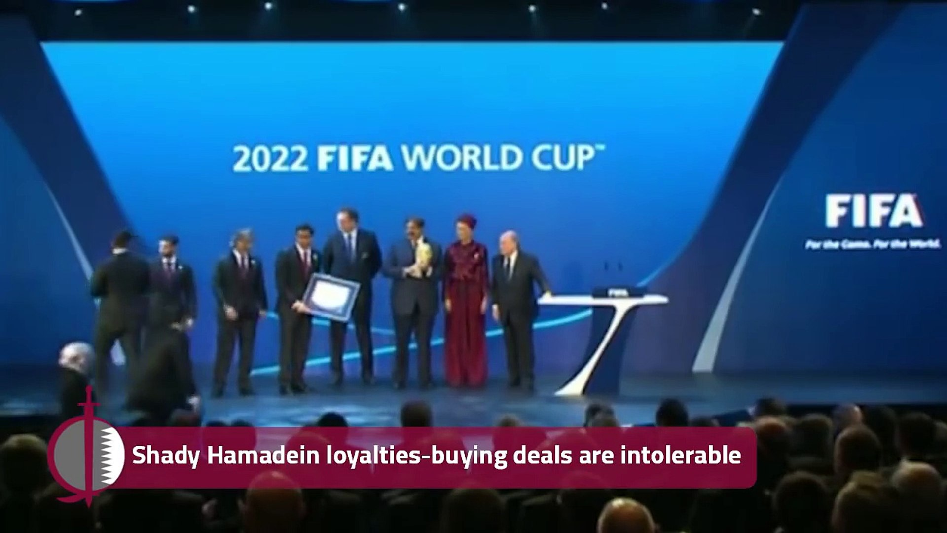 Doha and FIFA.. The grand corruption deal