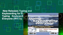 New Releases Typing and Keyboarding for Eve (Arco Typing   Keyboarding for Everyone (W/CD))  Any