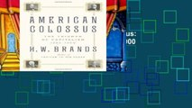 D0wnload Online American Colossus: The Triumph of Capitalism, 1865-1900 For Any device