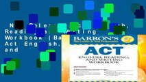 New Releases Act English, Reading,and Writing Workbook (Barron s Act English, Reading and