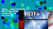 New Releases Investing in REITs: Real Estate Investment Trusts (Bloomberg)  Unlimited
