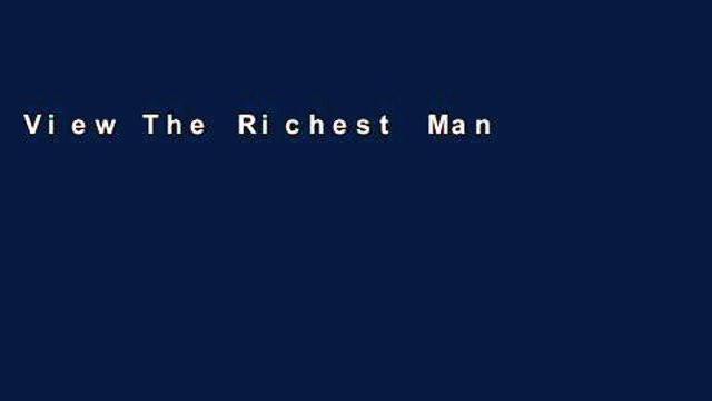 View The Richest Man in Babylon Ebook