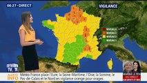 21 départements sont placés en vigilance orange pour orages et/ou canicule