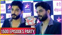 Raj Singh Arora At Ye hai Mohabbatein 1500 Episodes Celebration