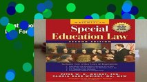 Best ebook  Wrightslaw: Special Education Law  For Kindle