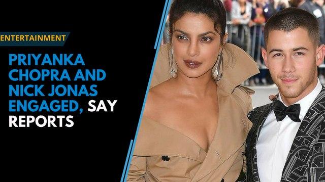 Priyanka Chopra and Nick Jonas engaged, say reports