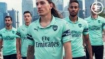 La tercera camiseta del Arsenal 2018-2019