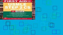 New Releases First Aid for the USMLE Step 2 Cs, Sixth Edition  Review