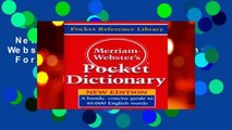 New Releases Merriam Webster s Pocket Dictionary  For Kindle