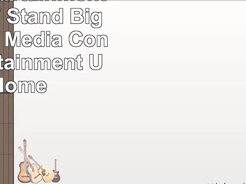 Corner Entertainment Center TV Stand Big Screen TV Media Console Entertainment Units Home