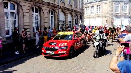 Passage à Arras - Tour de France 2018