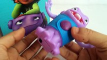 Dreamworks Home Movie Dancing Oh McDonalds Happy Meal Toy Unboxing Demo Review