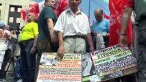 Rusya'da emeklilik reformu protestosu