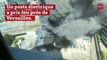 Un incendie paralyse la gare Montparnasse