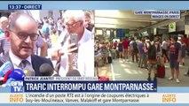 """Montparnasse: """"Nous avons déclenché le plan 'gare bloquée', qui consiste à utiliser la gare d'Austerlitz"""" (président de SNCF réseau)"""