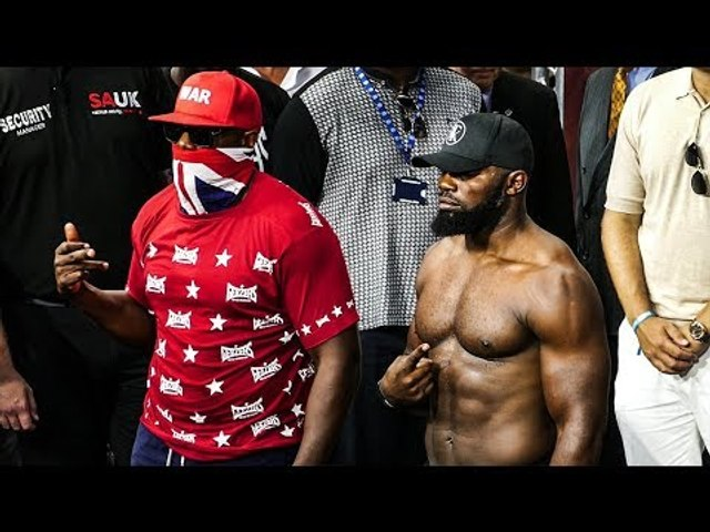 Dereck Chisora VS Carlos Takam - WEIGH IN & FACE OFF