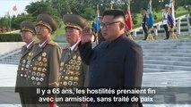 Corée du Nord: commémoration de la fin de la guerre de Corée