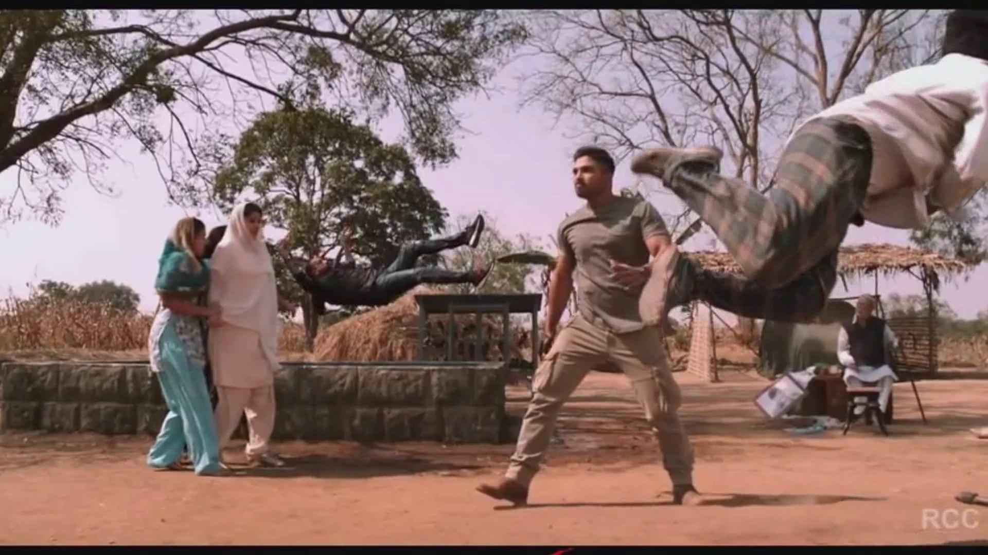 Naa peru surya 100 % real!Hindi Dubbed Trailer !Stylish Star Alu Arujun!!Naa Peru Surya - The Brave