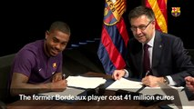 Football: Malcom signs contract with Barça
