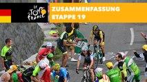 Zusammenfassung - Etappe 19 - Tour de France 2018
