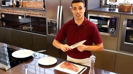 Como fritar bife