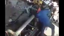 Terribles accidentes laborales - Accidentes fatales -- Se recomienda discrecion