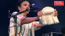 VIDEO. Civray : Catherine Ringer au festival au Fil du Son