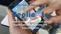 """Augmented reality: the """"Replicate project"""" explained by Paul CHIPPENDALE (FBK)"""