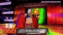 WWE RAW Asuka vs Stacey Coates