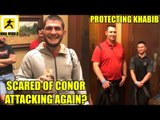 Khabib Nurmagomedov needs extra security at UFC Calgary because of Conor McGregor?,Serra on Colby
